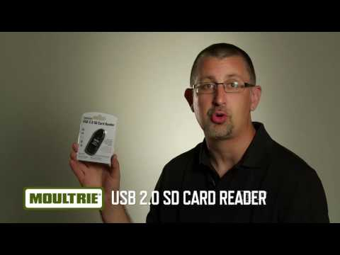 how to use moultrie sd card reader for iphone