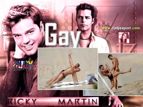 ricky martin flash gay