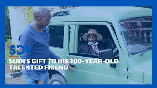 MP Sudi repairs vintage car for his talented 100-year-old Friend Mzee Kimisoi Kurgat Arap Ng\'isirei