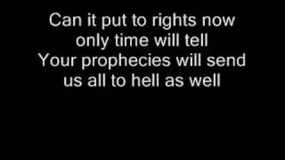 Iron Maiden - The Legacy (lyrics)