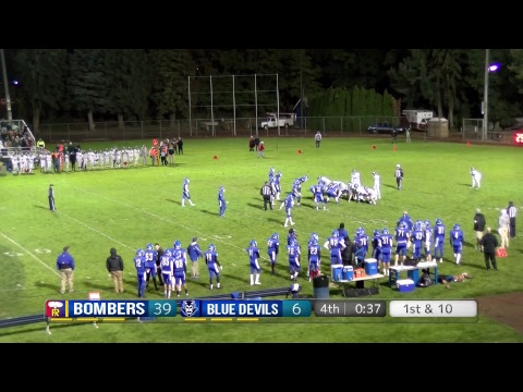 Varsity Bomber Football vs. Walla Walla High School