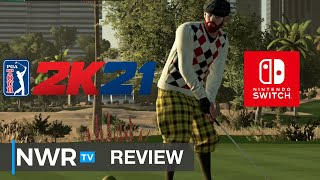 PGA Tour 2K21 (Nintendo Switch) Review (Video Game Video Review)