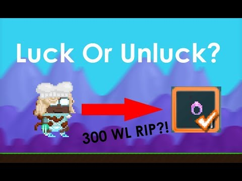 Growtopia Getting 2th Ring! (Unlucky Account?)