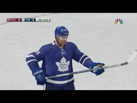 NHL 18: Toronto Maple Leafs vs Montreal Canadiens - Rival Game