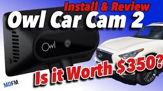 Owl Car Cam - 4G LTE Dash Cam WiFi & Dual-Facing HD Cameras