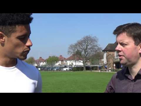 On the spot with AFC Wimbledon striker Lyle Taylor