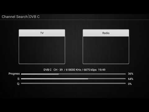 Khadas VIM2 VTV channel scan finds no DVB-C channels