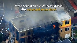 23 killed in Japan Anime studio arson attack