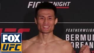 Weigh-in recap: Dennis Bermudez vs. Korean Zombie | UFC ON FOX