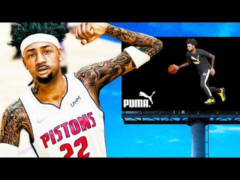 Ethan Breakout NBA Game Against LeBron! FIRST PUMA Billboard!  NBA 2K22 MyCAREER #5 |