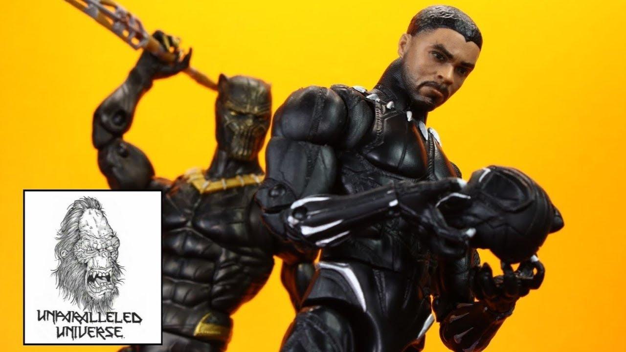 Marvel Legends Black Panther Series Erik Killmonger Action Figure