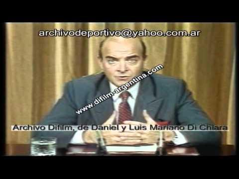 DiFilm - El Plan Brady - Domingo Cavallo en Cadena Nacional (1992)