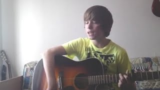Dominik singing - One Time Cover - Justin Bieber