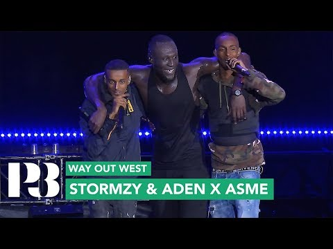 Stormzy & Aden x Asme - Vossi Bop (Remix) (Live Way Out West 2019) / Sveriges Radio P3