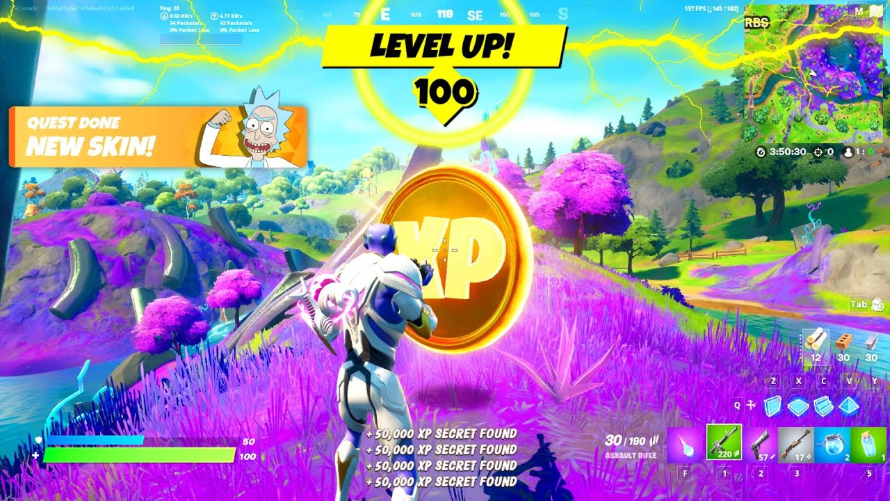 Fastest XP TRICKS in Fortnite Season 7! (Level Up to Tier 100!)