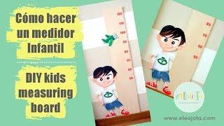 Cómo hacer un medidor infantil | ELEOJOTA00 | TUTORIAL MANUALIDADES
