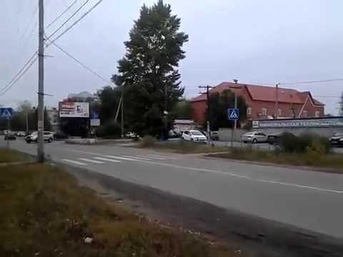 Светофор в г Южноуральск перекресток улицы Строителей и Спортивной 480