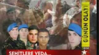 Şehitlere veda, Diyarbakır Licede hain pusu 9 canımızı aldı, 29 Nisan 2009