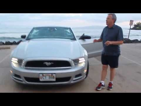 How To Rent A Ford Mustang Convertible In Hawaii Or How To Get Bags