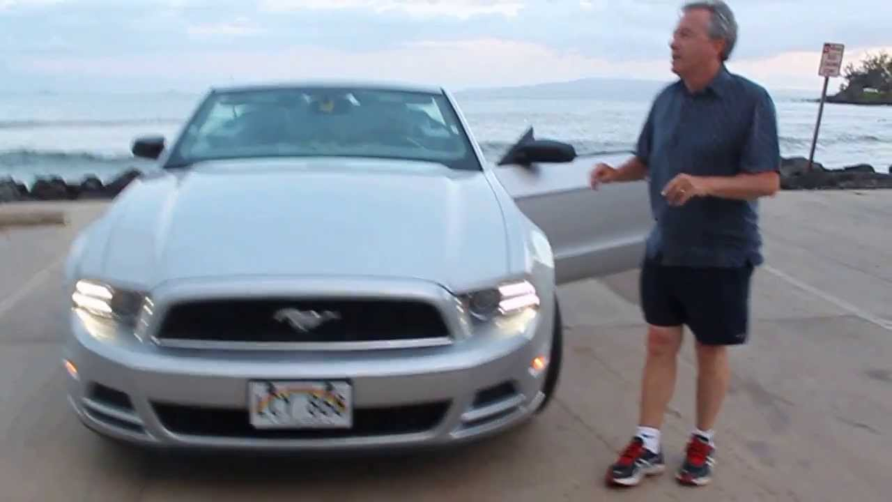 How to rent a ford mustang convertible in hawaii or how to get bags into the boot trunk