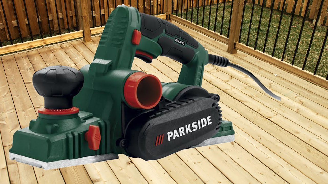 Parkside electric planer plastic petrol can