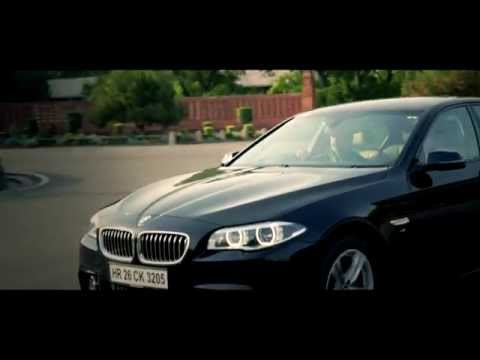 The BMW 530D M Sport Drive Review video by Raghav & Vineet