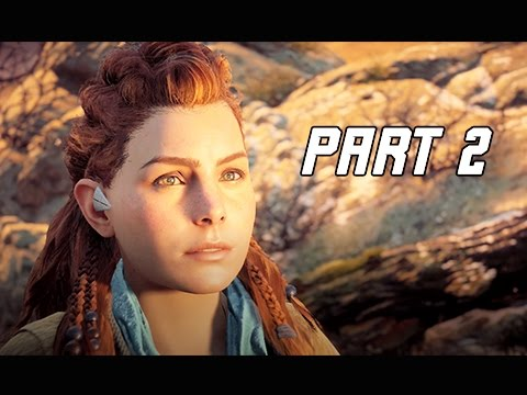 Horizon Zero Dawn Walkthrough Part 2- The Proving (PS4 Pro Let's Play Commentary)