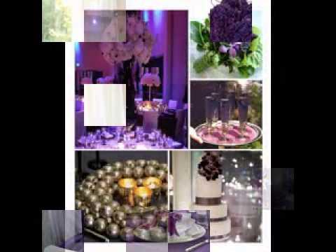 Purple wedding decorations ideas youtube purple wedding decorations ideas junglespirit Images