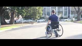 smartdrive wheelchair power assist demonstration by push mobility