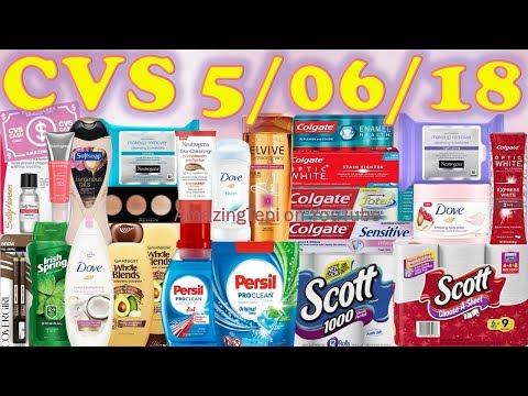 CVS Deals and Breakdowns 5/6/18 - 5/12/18