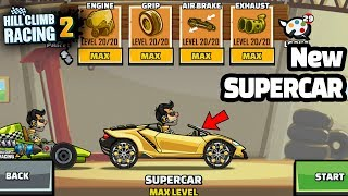 Hill Climb Racing 2 Hill Climb Racing 2 New Vehicle SUPERCAR Fully ...
