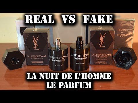 Fake fragrance – La Nuit de L'Homme Le Parfum by Yves Saint Laurent