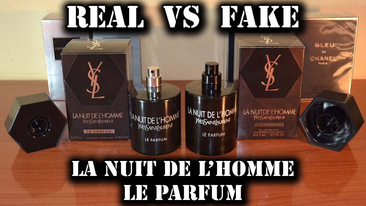 baa16a336f Fake fragrance - La Nuit de L Homme Le Parfum by Yves Saint Laurent -  YouTube