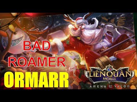 Liên quân mobile: ORMARR Thông thỏa thích Roamer dễ chơi dễ leo rank