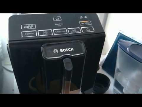 Кофемашина Bosch VeroCup 100: промывка, уход, очистка.