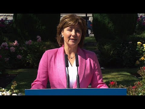 CTV News Channel: Clark speaks ahead of vote