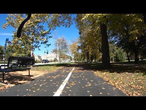 Testing Marathon Plus Tires In The City, Nice Day Bike Blogger