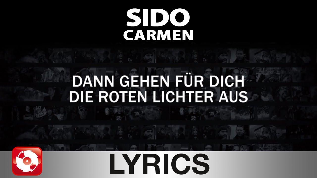 Sido - Carmen Lyrics | MetroLyrics