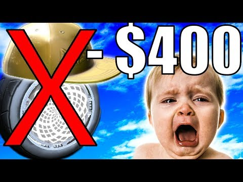 WILL I LOSE $400 ON ROCKET LEAGUE BLIND TRADING?!