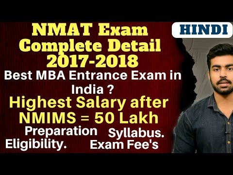 MBA Entrance Exam in India | Complete Information about NMAT Exam |NMAT, CAT, XAT, GMAT.