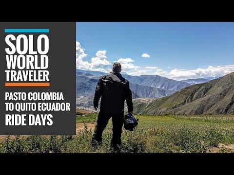 Ride Day 41: Pasto, Colombia to Quito, Ecuador