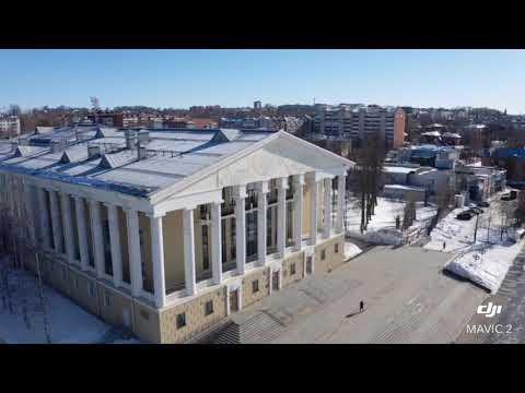 Воткинск зима  2020