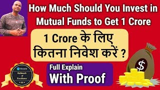 Wealth Creation | How Much Should You Invest in Mutual Funds to Get 1 Crore | Groww Fair Play Awards