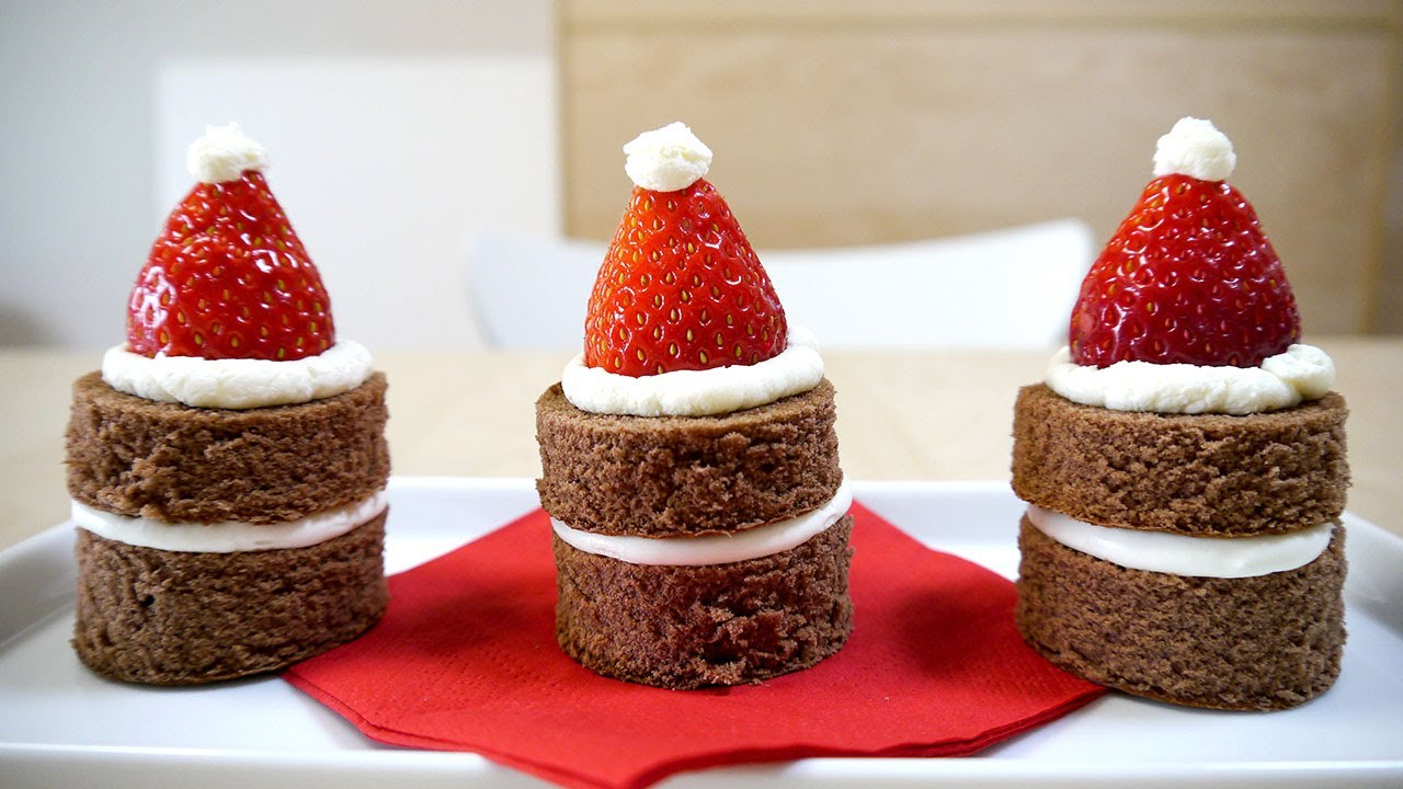 how to make strawberry santas coles