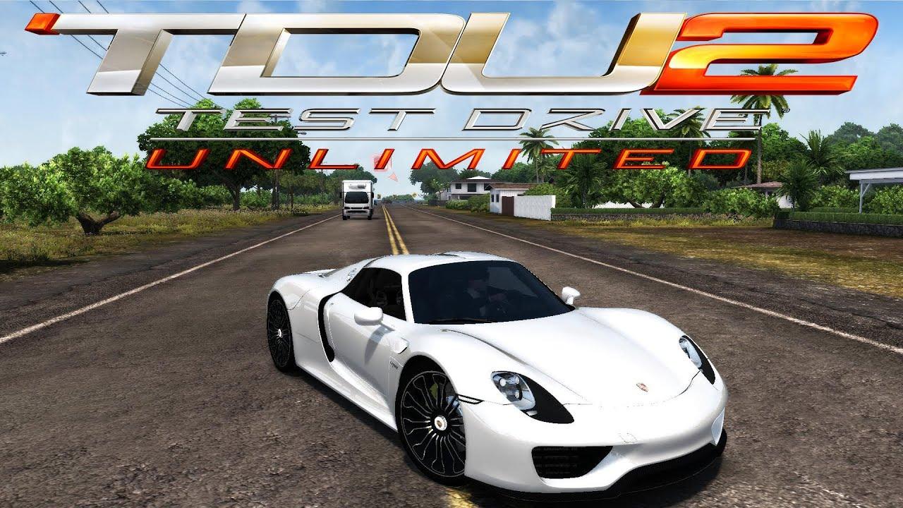 Tdu2 Porsche 918 Spyder Normal Version Youtube