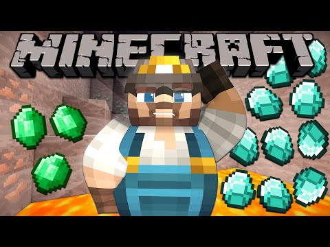Thumbnail: Why Emeralds are Rarer than Diamonds - Minecraft