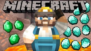 Why Emeralds are Rarer than Diamonds - Minecraft