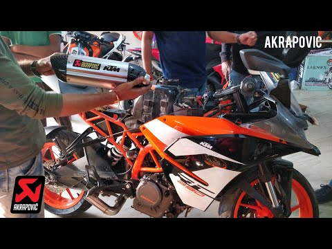Trying Akrapovic and 6 Other Exhausts on the KTM RC390 2018