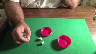sure shot dice cup magic trick