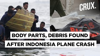 Indonesia Plane Crash Sriwijaya Air S Black Boxes Located Bodies Debris Pulled Out Of Sea